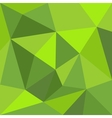 Green triangle wrapping flat background or pattern vector image vector image