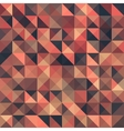 Retro seamless triangle abstract pattern vector image vector image