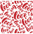 romantic red love patterns backgrounds set vector image vector image