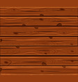 the natural dark wooden backgroundold panels vector image