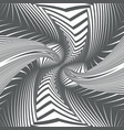 twirl halftone abstract geometrical spin spiral vector image vector image
