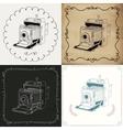 Vintage Hand-Drawn Camera Variations vector image vector image
