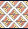 geometric rhombus seamless pattern abstract vector image