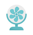 air home fan icon flat isolated vector image vector image