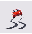 Car Insurance and Unsafe Drive Risk vector image vector image