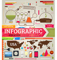 Infographics Icon Set vector image