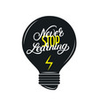 never stop learning hand written lettering quote vector image vector image