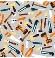 pattern seamless of color builder equipment vector image