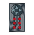 remote control for tv or media center device vector image