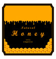 the set honey vector image vector image