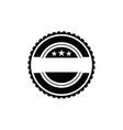 vintage retro badge blank labels logo vector image vector image