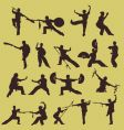 wushu Chinese martial art vector image