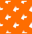 doberman dog pattern seamless vector image vector image