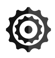 gear object icon vector image