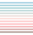 horizontal pinstripes in soft colors vector image vector image