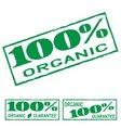 organic print vector image vector image