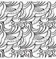 sketchy doodles decorative outline ornamental vector image vector image