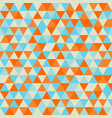 vintage geometry pattern candy and sweet retro vector image vector image