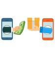 m commerce icon vector image