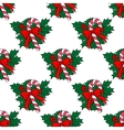 Christmas candy stick seamless pattern vector image