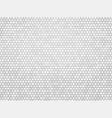 gray metal hexagon background vector image vector image