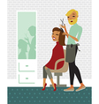 Hair salon vector image vector image