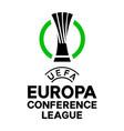 uefa league conference logo vector image