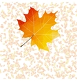 Autumn leaf abstract backgrounds plus EPS10 vector image vector image