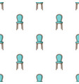 classical chair icon in cartoon style isolated on vector image vector image