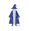 Fairytale Wizard Drawing vector image vector image