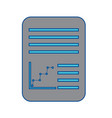 paper document icon image vector image