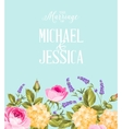 The Wedding Background vector image vector image
