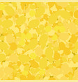 yellow circles seamless pattern mosaic texture vector image