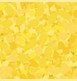 yellow circles seamless pattern mosaic texture vector image vector image