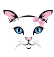Cat-face vector image
