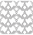 Art deco simple linear seamless pattern vector image vector image