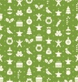 Christmas and New Year Seamless background pattern vector image vector image