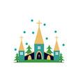 church icon for religion architecture design vector image