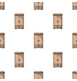 closet icon in cartoon style isolated on white vector image vector image