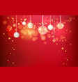 festive holiday card vector image