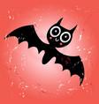 funny bat vector image
