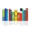hours in books vector image