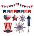 independence day united states tradition vector image