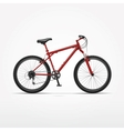 Realistic Isolated Bicycle vector image vector image