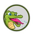 crazy crocs vector image