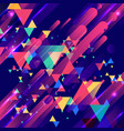 abstract colorful elements and creative modern vector image vector image