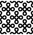 abstract seamless pattern background black bowen vector image vector image