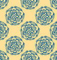 Mandala Patterned Background vector image vector image