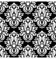 Retro black and white seamless pattern vector image vector image