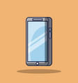 smartphone device screen blank technology vector image